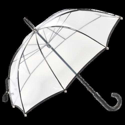 Walking stick umbrella, Black, hi-res - View 1 of 1