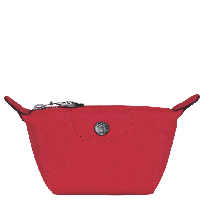 Le Pliage Cuir 零錢包, 紅吻色