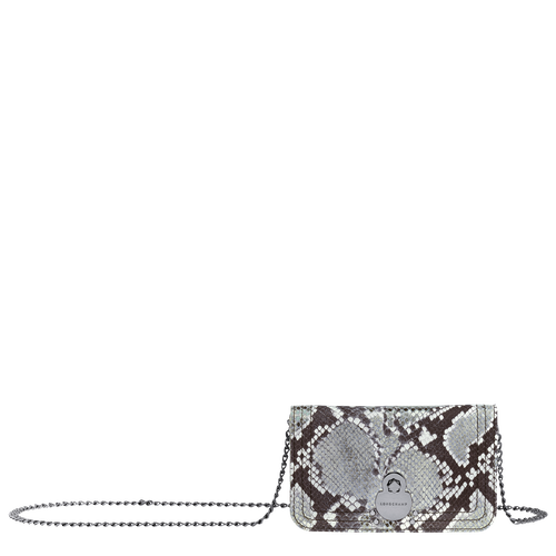 Cartera con cadena, Platino, hi-res - View 1 of 3