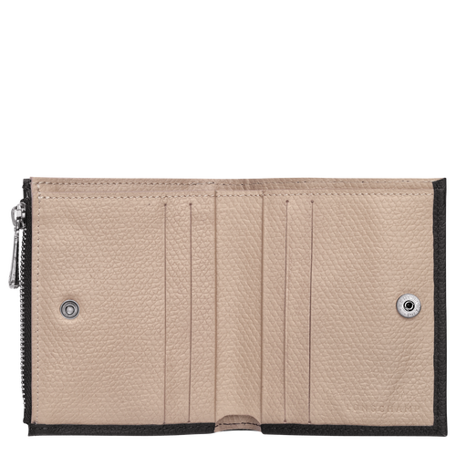 컴팩트 지갑, 블랙 / 에보니 - 2 이미지 보기 2 -