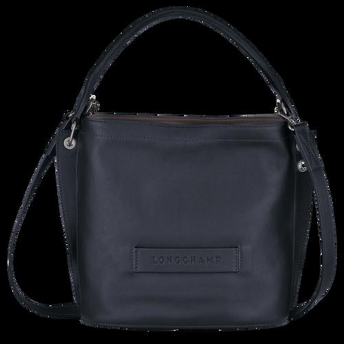 Sac porté travers Longchamp 3D Minuit (L2084772606) | Longchamp FR