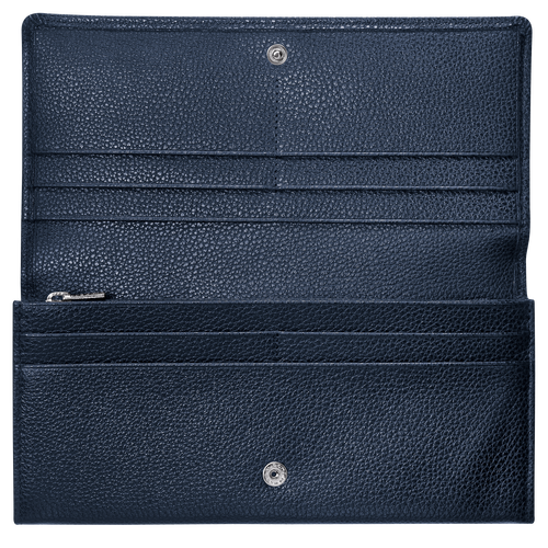 Long continental wallet, Navy - View 2 of  2 -