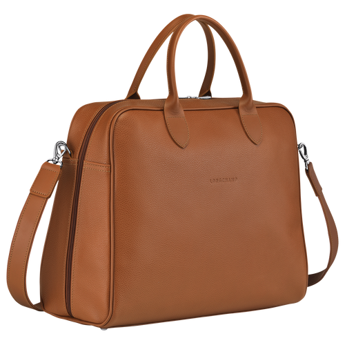 Briefcase L, Caramel - View 2 of  4 -