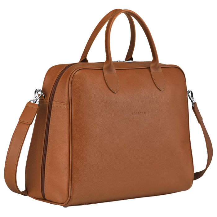 Briefcase L, Caramel - View 2 of  4 - zoom in