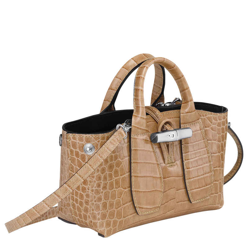 Top handle bag XS, Sand - View 3 of  4 - zoom in