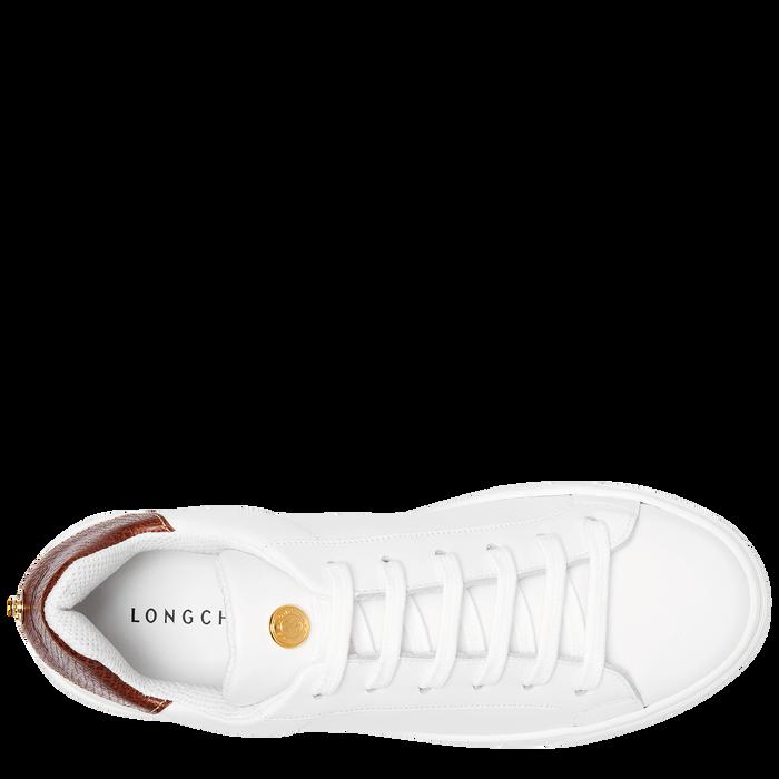 Sneakers, Blanc - Vue 4 de 5 - agrandir le zoom