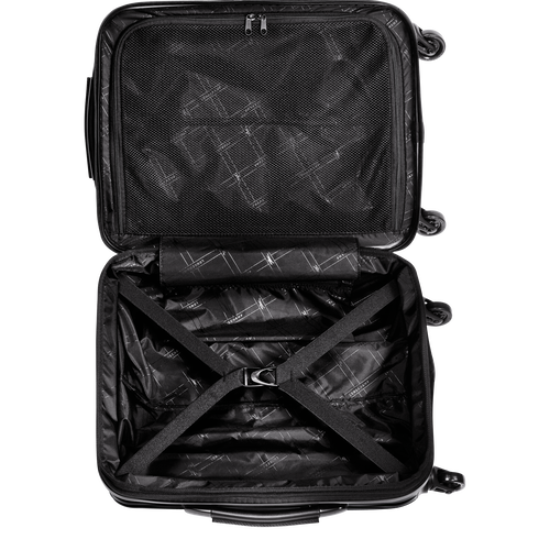 Cabin suitcase, Black, hi-res - View 3 of 3