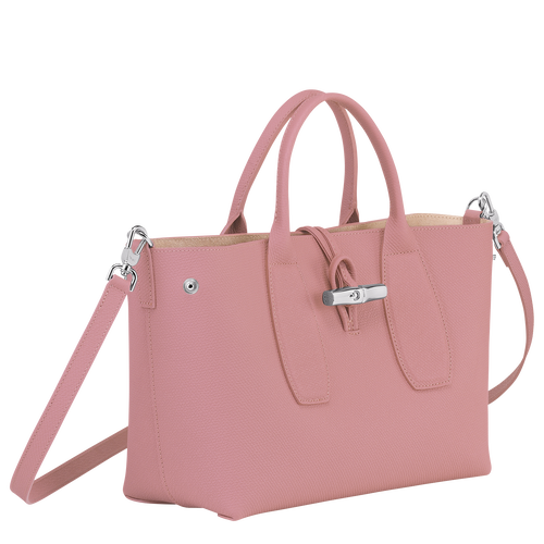 Top handle bag M, Antique Pink - View 3 of  4 -