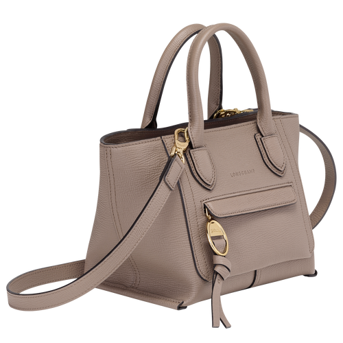 Top handle bag S, Taupe - View 2 of  3 -