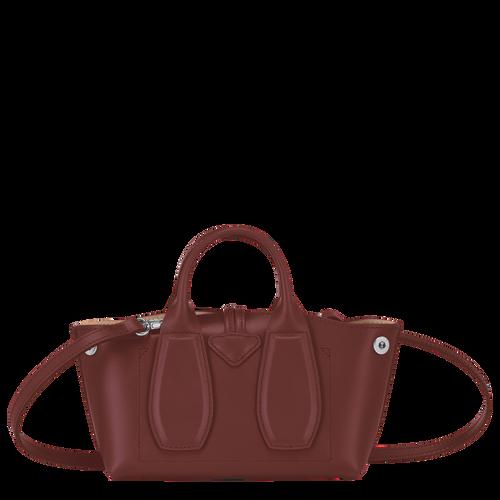 Roseau 手提包 XS, 赤褐色