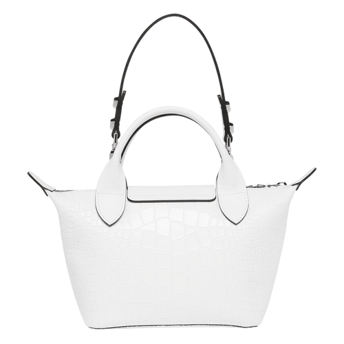 View 3 of Mini top-handle bag, White, hi-res