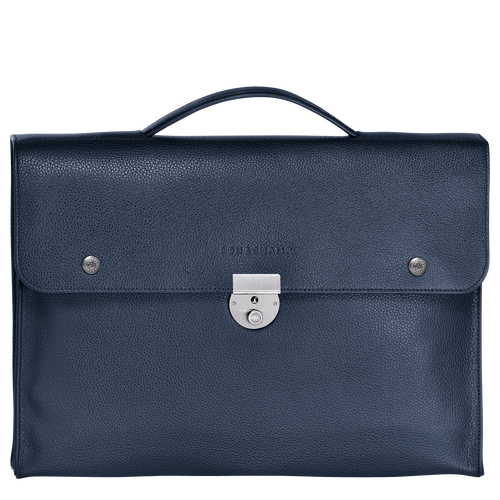 View 1 of Briefcase S, Navy, hi-res