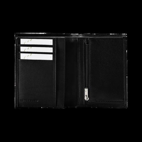Geldbörse, Schwarz/Ebenholz - Ansicht 3 von 3 -