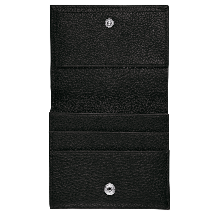 Le Foulonné Coin purse, Black