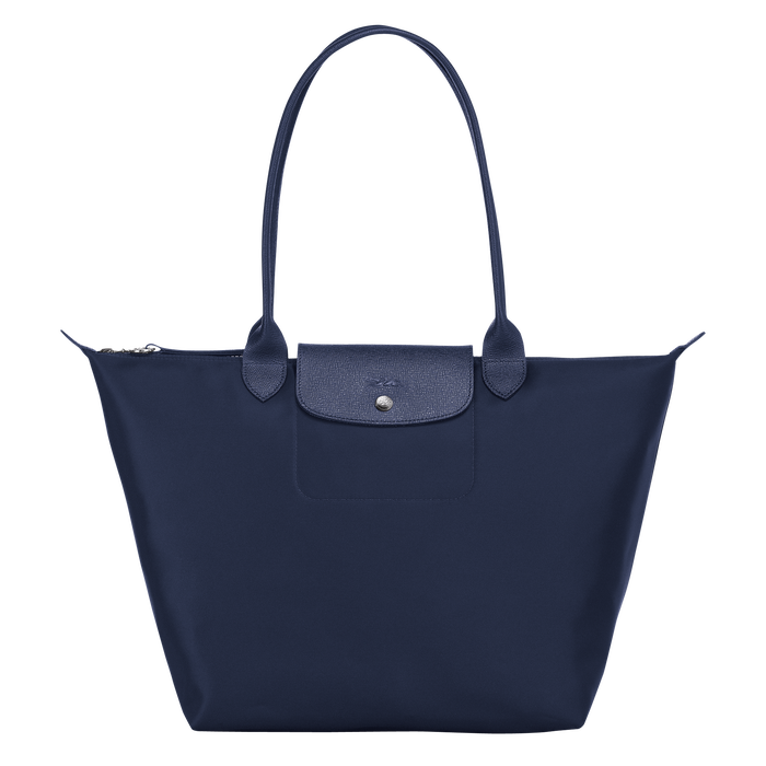 Shoulder bag L, Navy, hi-res - View 1 of 3