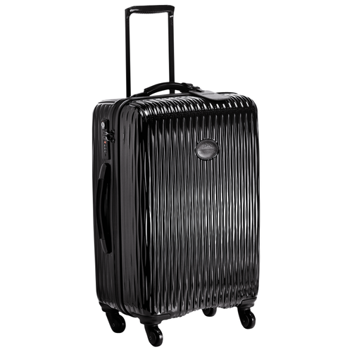 Wheeled suitcase, Black, hi-res - View 2 of 3
