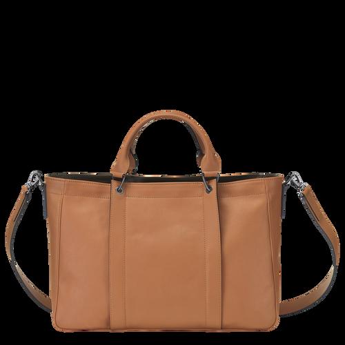 Top handle bag M, Natural, hi-res - View 3 of 3