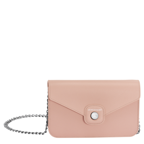 View 1 of Wallet on chain, 507 Powder Pink, hi-res