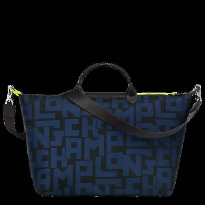 Reisetasche L, Schwarz/Marine - Ansicht 3 von 3 - Zoom vergrößern