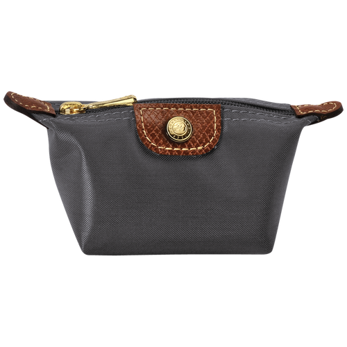 Coin purse, Gun metal - View 1 of 1 -