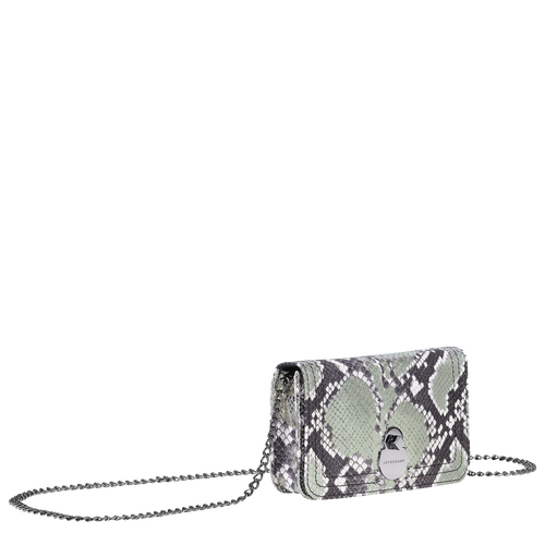 Cartera con cadena, Platino, hi-res - View 2 of 3