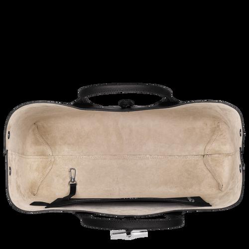 View 5 of Top handle bag L, Black, hi-res