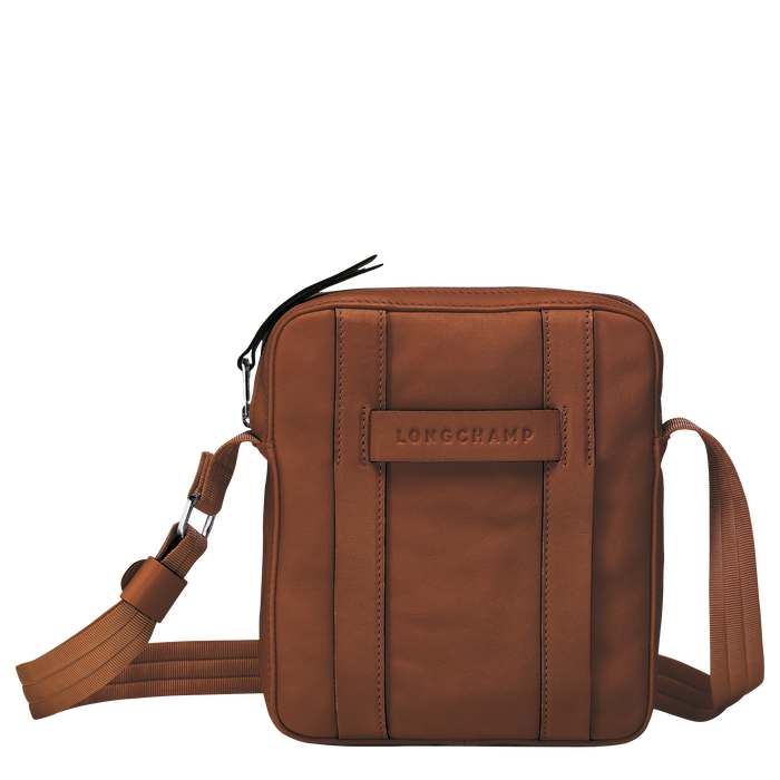 Longchamp 3D Crossbody bag S, Cognac