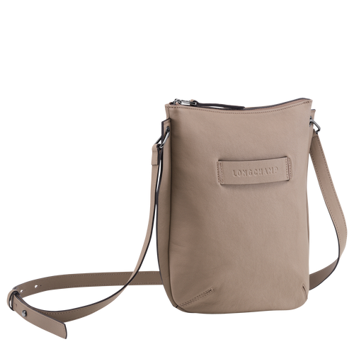 Crossbody bag Longchamp 3D Brown (10079772315) | Longchamp GB