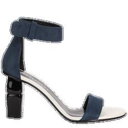 Sandalen met hoge hak