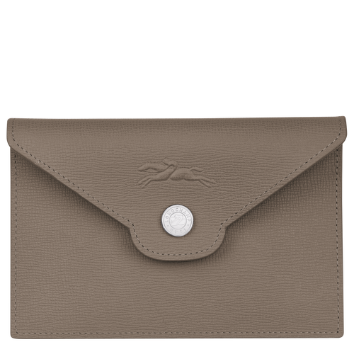 Card holder, Taupe - View 1 of 2.0 -