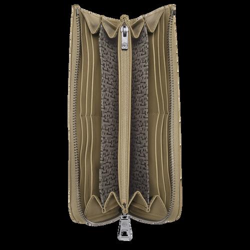 Long zip around wallet, Khaki - View 2 of 2 -