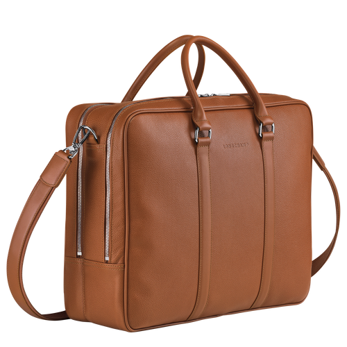 Briefcase L, Caramel - View 2 of  3 -