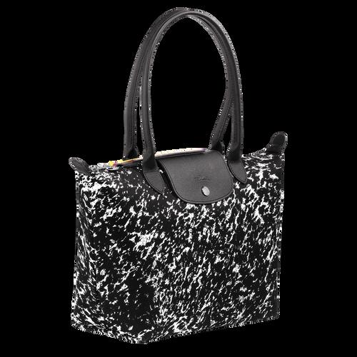 View 2 of Tote bag S, 067 Black/White, hi-res