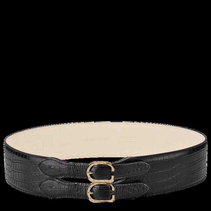 Ladies' belt, Black/Ebony - View 1 of 1 - zoom in