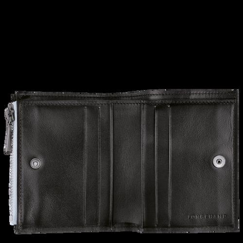 Roseau Brieftasche im Kompaktformat, Himmelblau