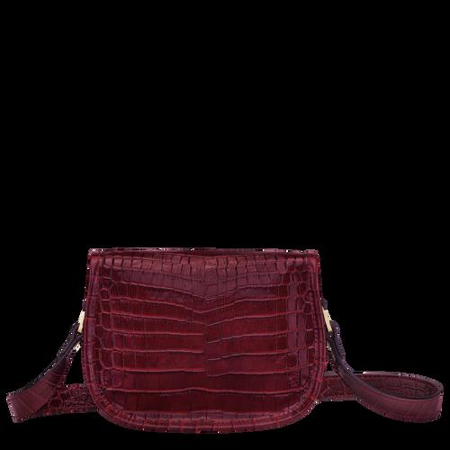 Crossbody bag XS, Burgundy - View 3 of  3 -