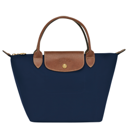 Top handle bag S, Navy