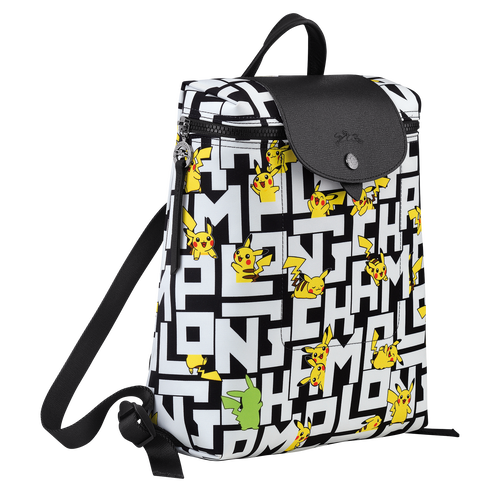Backpack, Black/White - View 2 of  3 -