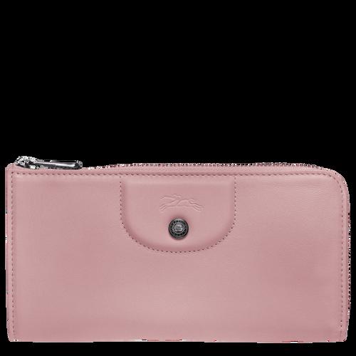 Long zip around wallet, Antique Pink - View 1 of 2 -