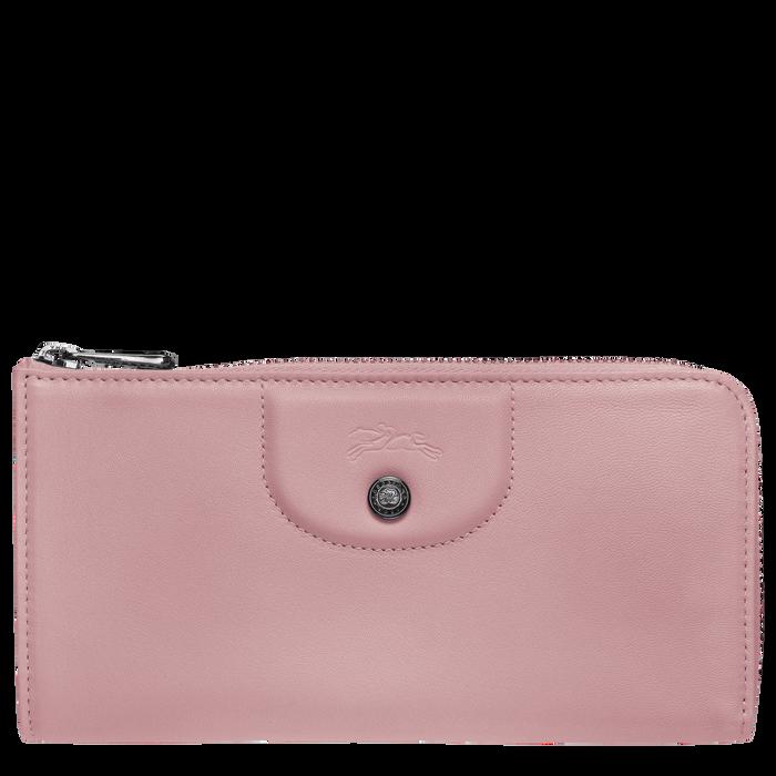 Long zip around wallet, Antique Pink - View 1 of 2 - zoom in