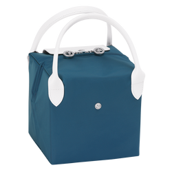 Bolso de mano S, E62 Azul/Blanco, hi-res
