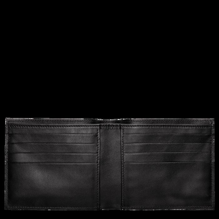 ウォレット, ブラック/黒檀 - ビュー 2: 2 - 拡大