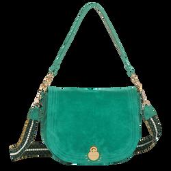 Hobo bag, D91 Emerald, hi-res