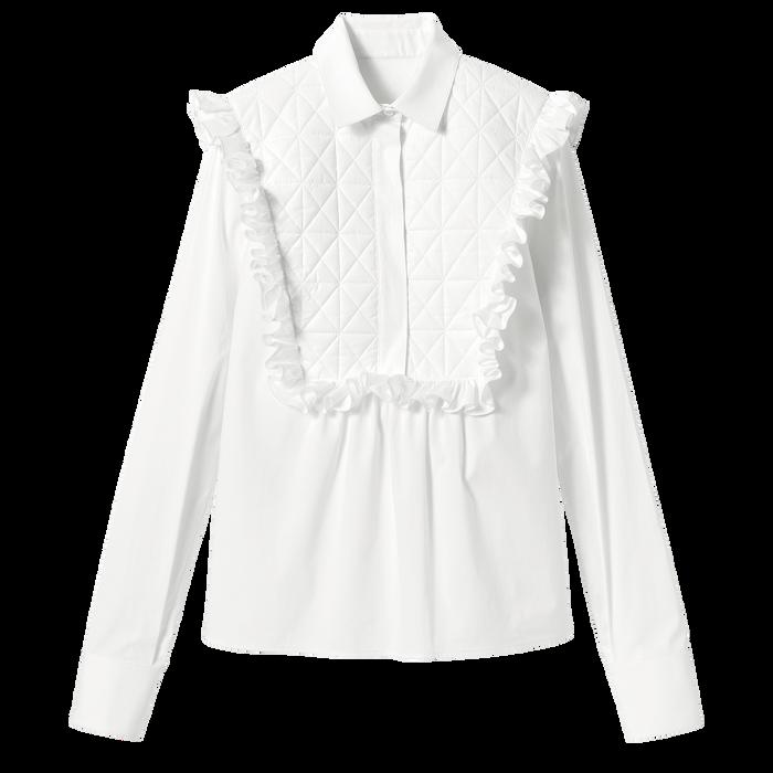 2021 秋冬系列 女襯衫, 白色