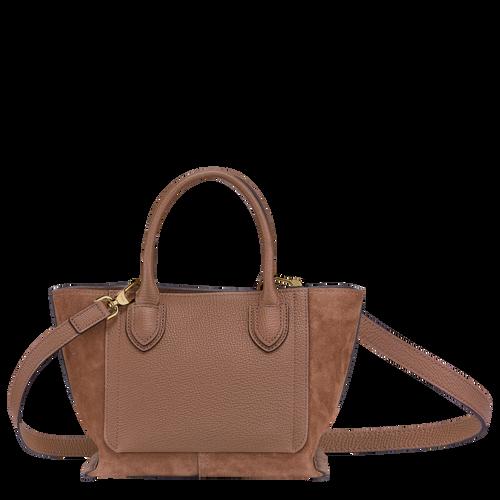 Top handle bag S, Cognac - View 3 of  4 -