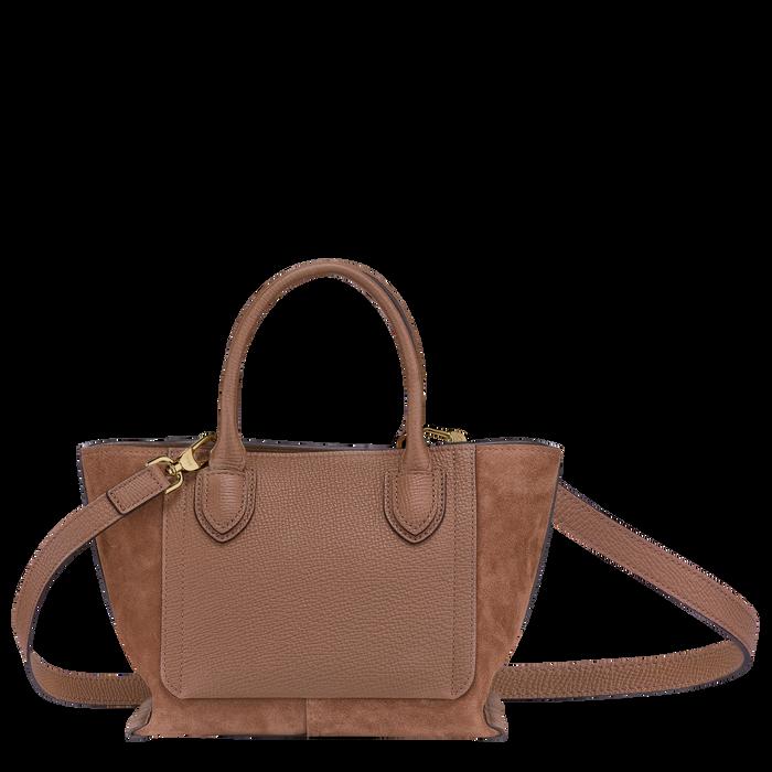 Top handle bag S, Cognac - View 3 of  4 - zoom in