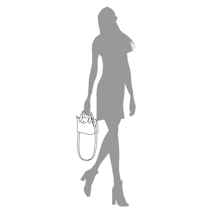 Le Pliage Néo Handtasche XS, Taupe