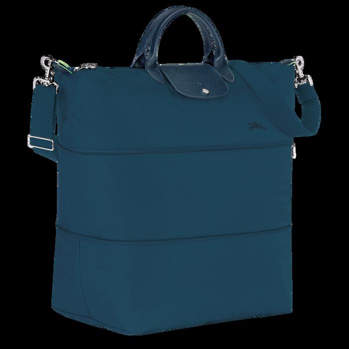 Le Pliage Green Travel bag expandable, Ocean