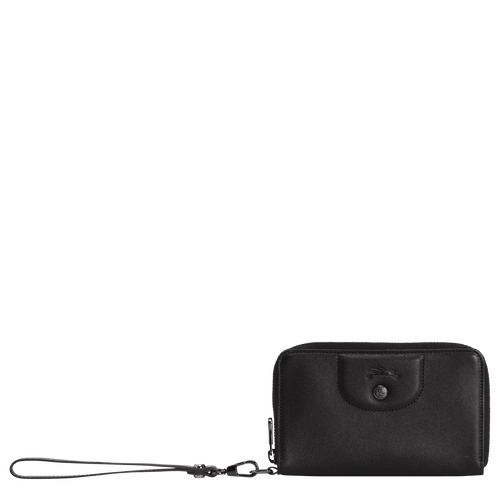 Compact wallet, Black/Ebony - View 1 of  2 -