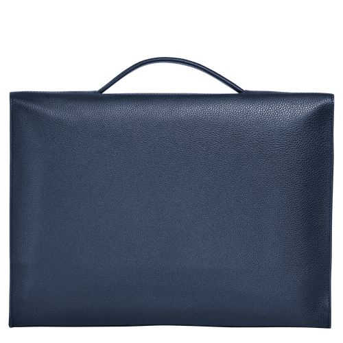 View 3 of Briefcase S, Navy, hi-res